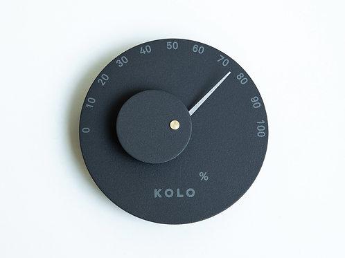 Hygrometer schwarz