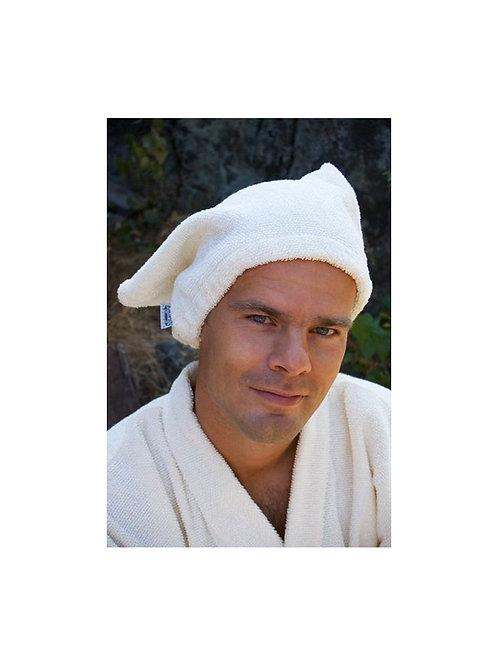 Sauna Mütze, KOIVU, weiss