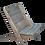 Thumbnail: Granny Chair, Kiefer, grau