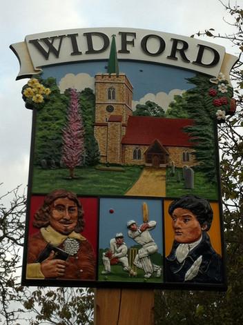 Widford village (Herts)