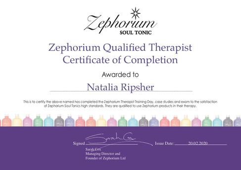 Natalia is a qualified Zephorium Therapist