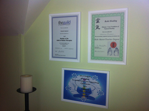 Natalia is a qualified practitioner