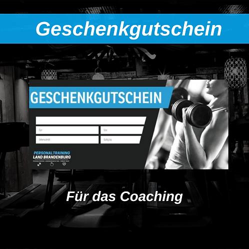 Geschenkgutschein - Coaching