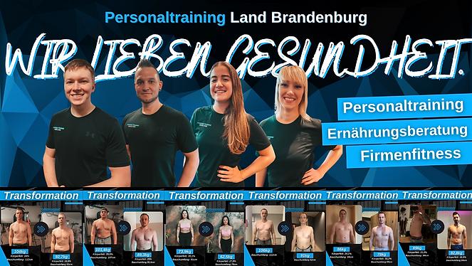 Personaltraining Land Brandenburg Cover.