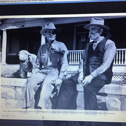 Farlow-stub-on-left-father-Ed-and-pet-la