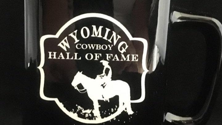 Wyoming Cowboy Hall of Fame Square mug
