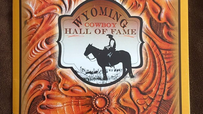 Wyoming Cowboy Hall of Fame yearly Inductee booklets