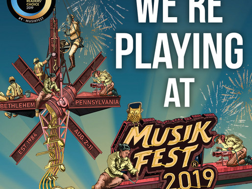 Our 2019 Musikfest Schedule!