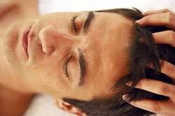Man Scalp Massage