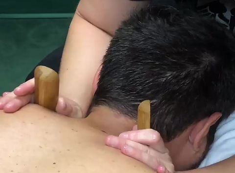 Warm Bamboo Stick Massage