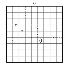 Nonconsecutive XV Sandwich Sudoku.png