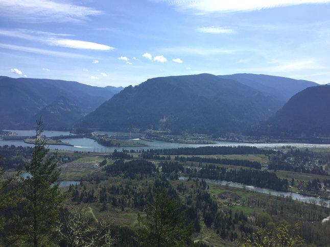 Bonneville Dam from Aldrich Butte