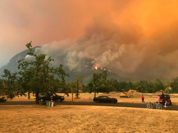Eagle Creek Fire 1