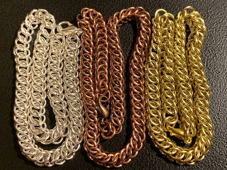 3-in-1 Chainmail Bracelet