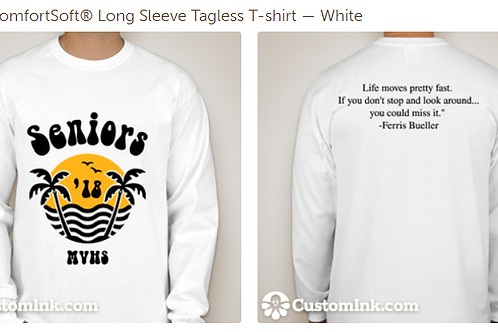 Senior Class Long Sleeve Shirt