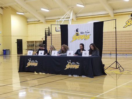 Athlete Signing Day - February 6, 2019