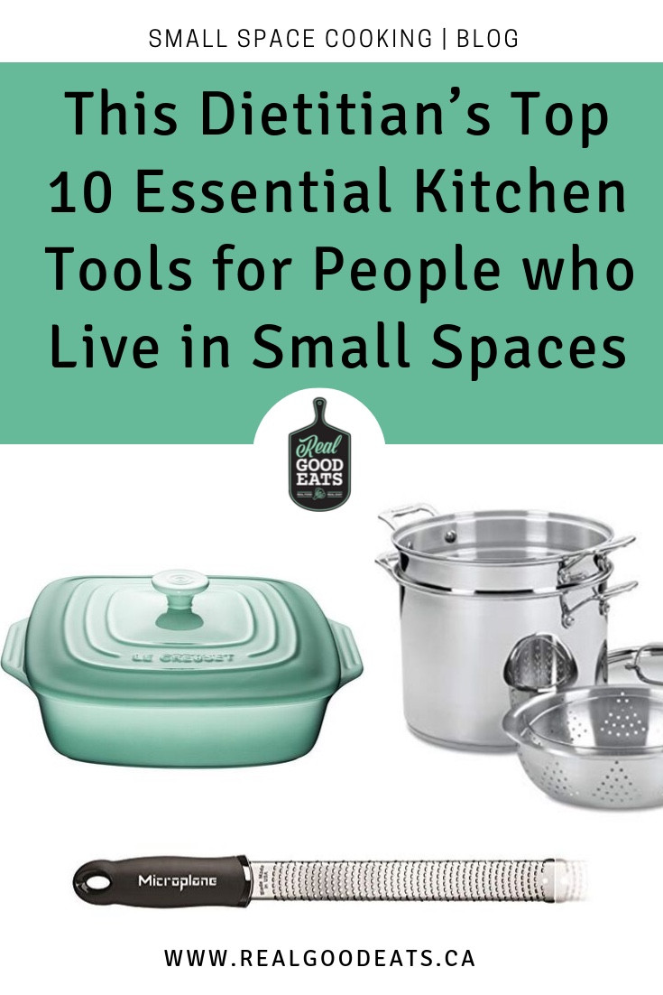 top 10 essential kitchen tools for people who live in small spaces