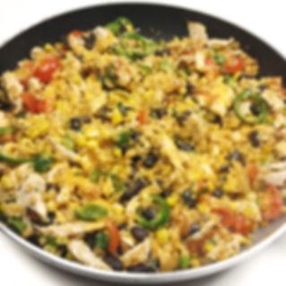 Chesy Tex-Mex Cauli Rice
