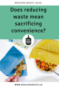 does reducing waste mean sacrificing convenience?