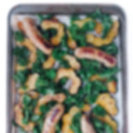 Sheet Pan Sausage, Squash and Kale.jpeg