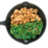 spicy green beans chicken skillet.jpg