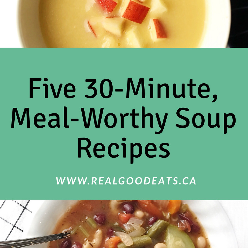 5 meal-worthy soup recipes