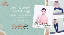 RPYT 85 Hrs Prenatal Yoga Teacher Training with Sarah Kam