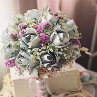 Rose Money Bridal Bouquet