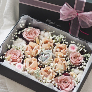 Rose Money Box