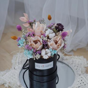 Money Rose Bloom Box