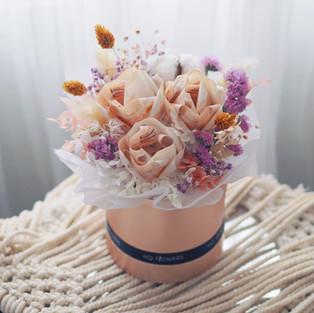Rose Money Bloom Box