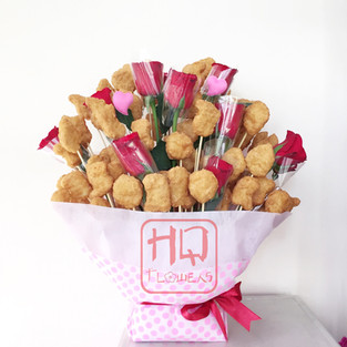 100 Pieces Nugget Bouquet