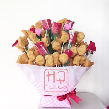 100 Pieces Nugget Bouquet