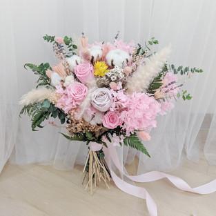 Preserved Rose Bouquet Bridal
