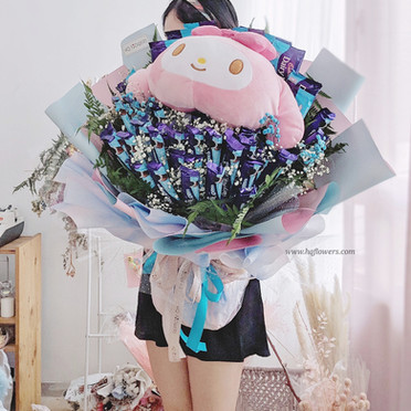 Melody + Chocolate Bouquet