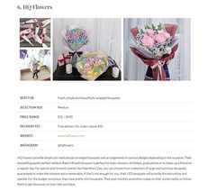 Flower Delivery Reviews