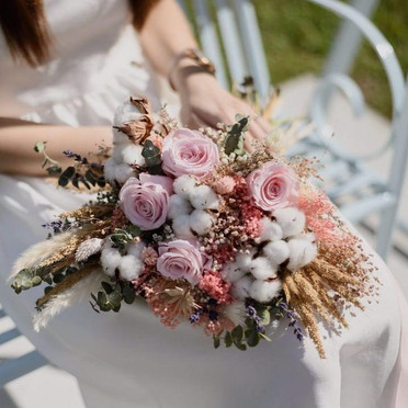 Preserved Bridal Bouquet