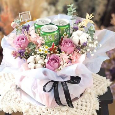 Beer & Flower Set
