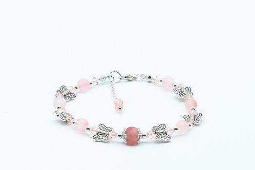 Cherry Butterfly Bracelet