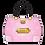 Thumbnail: Flower Handbag Shaped Card - Pink