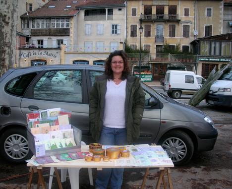 1st day on the market France.JPG
