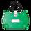 Thumbnail: Flower Handbag Shaped Card - Green