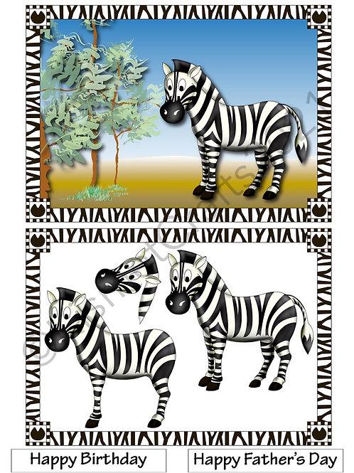 Zebra Quick Card