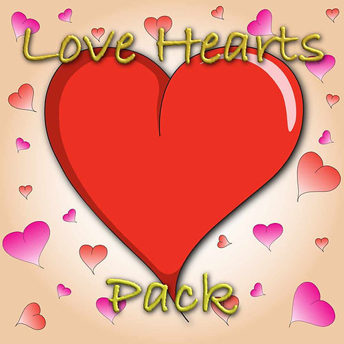 Love Hearts Pack