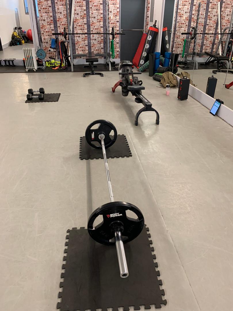 Ravenshead personal trainer  studio