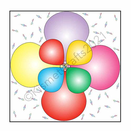 Balloon Teabags - Rainbow