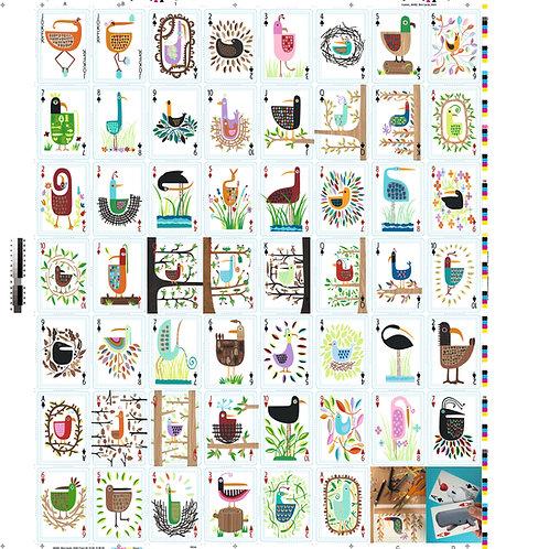 Uncut Card Sheet