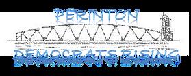 Domaratz_Perinton Democrats Rising logo.