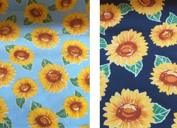 Sunflowers - Light or dark blue