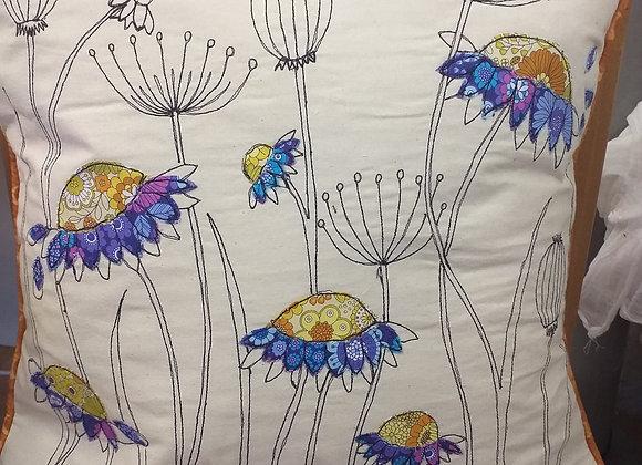 Wild Flowers Cushion Covers kit